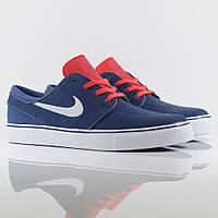 Взуття Nike Stefan Janoski - Zoom Navy/Red/Truewhite, фото 1