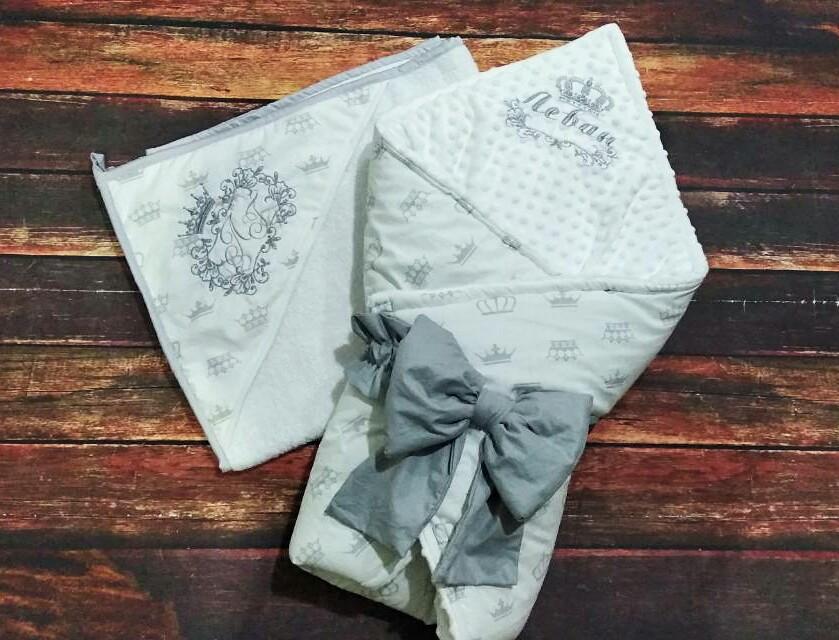 Детское именное  махровое полотенце - уголок