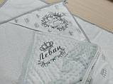 Детское именное  махровое полотенце - уголок, фото 2