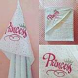 Детское именное  махровое полотенце - уголок, фото 6