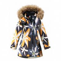 Куртка зимняя для девочки Reima Muhvi 521562, цвет 9998