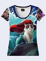 Женская футболка GRUMPY CAT DISNEY