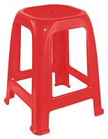 Пластиковый табурет для кафе Пиф красный