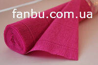 Креп бумага ярко-розовая №551