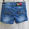 Шорты джинсовые для девочек 6-14лет   GB09, фото 2
