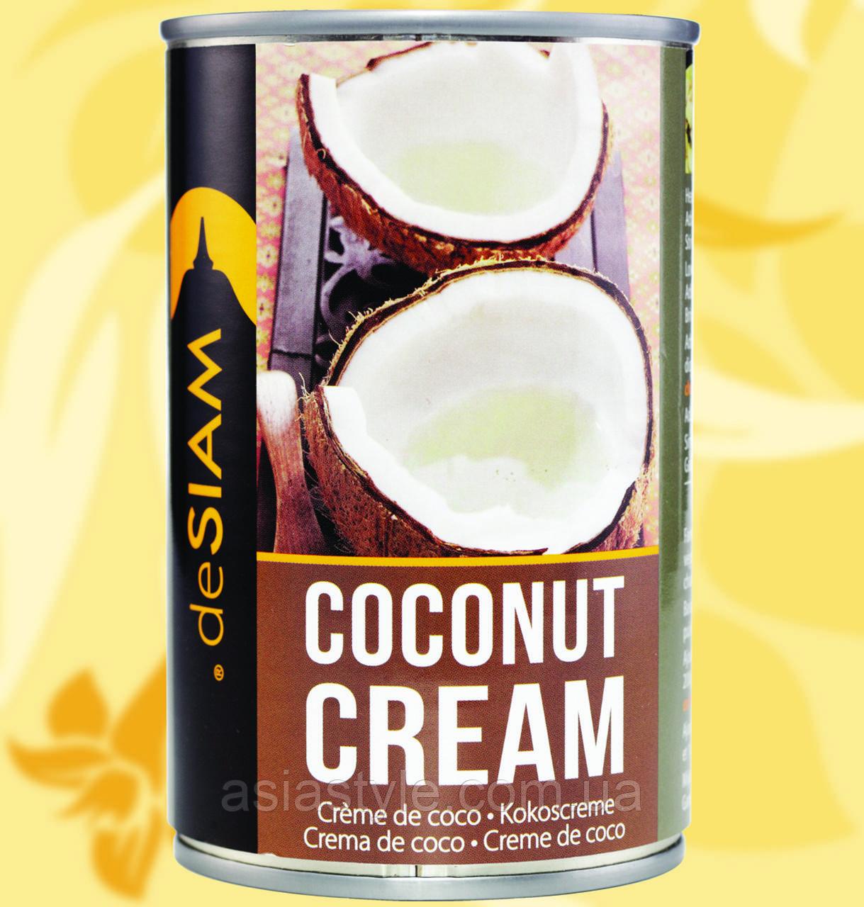 Крем кокосовий, deSiam, 400г, 19%, ФоАр