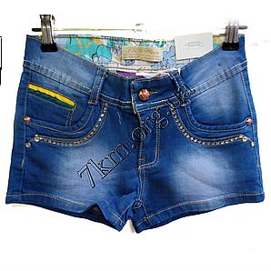 Шорты джинсовые для девочек 4-12лет  GL329