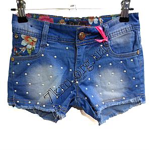 Шорты джинсовые для девочек 6-14лет   GB101