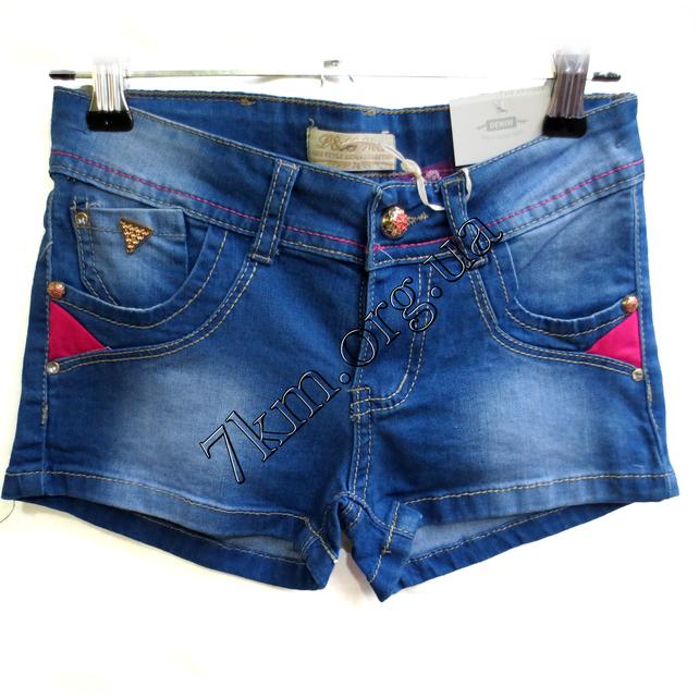 Шорты джинсовые для девочек 4-12лет  GL330