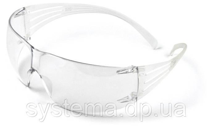 3M™ SecureFit™ - Окуляри захисні відкриті, прозорі, фото 2