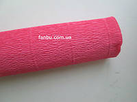 Креп бумага ярко-малиновая №571,производство Италия, фото 1