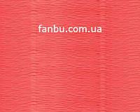 Креп бумага ярко-персиковая №601,производство Италия, фото 1