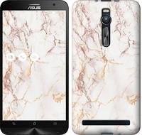 Чехол EndorPhone на Asus Zenfone 2 ZE551ML Белый мрамор 3847c-122-19016 (hub_qbFk14649)