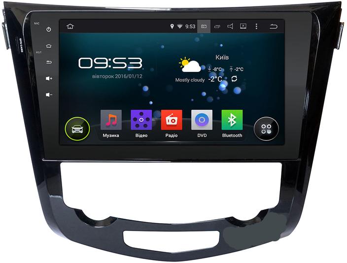 """Магнитола штатная Incar AHR-6283 Nissan Qashqai 2014 Conditioner 10"""" (Android 5.1) с кондиционером"""
