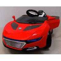 Электромобиль Cabrio А1+EVA красный