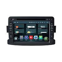 В машину головное устройство штатная магнитола для Renault Duster, Sandero AHR-1484 на ос Android 4.4 .4