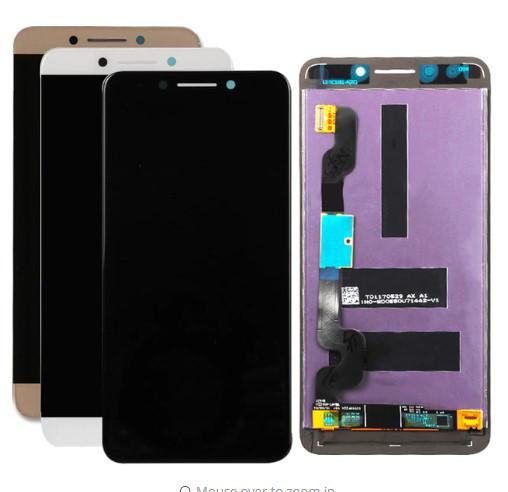Дисплей модуль LeEco Le Pro 3 AI X650 X651 в зборі з тачскріном, чорний