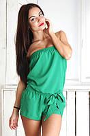 Комбинезон женский зеленый RSK DF0411