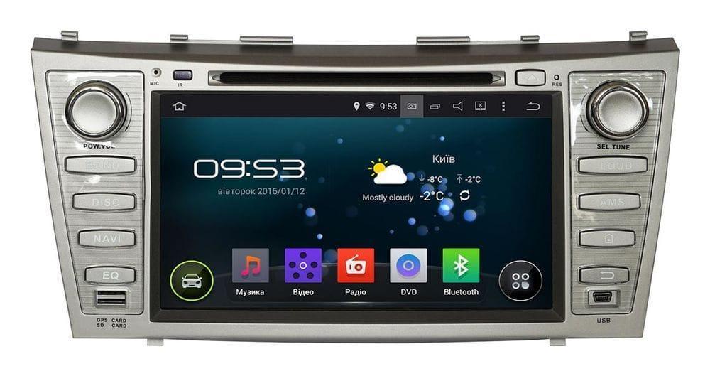 Штатна автомагнітола андроїд 5.1 Toyota Camry V40 INCAR AHR-2282 екран 8