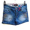 Шорты джинсовые для девочек 6-14лет   GB11