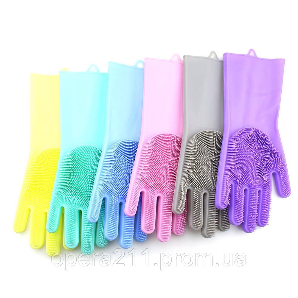 Многофункциональные силиконовые перчатки MAGIC BRUSH (AS SEEN ON TV)