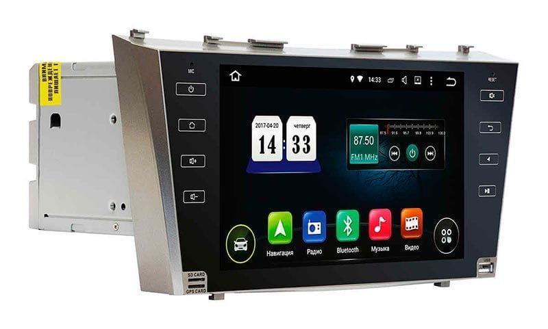 """Автомагнитола штатная Toyota CAMRY 40 TSA-9020 Android 8 экран 9"""" штатный размер магнитола"""
