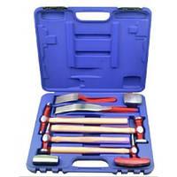 Набор инструментов рихтовочных для кузовных работ 9пр., в кейсе