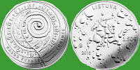 Литва 1,5 евро 2018 г. Праздник Йонинес (Ивана Купала) . UNC