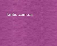Креп бумага ярко-сиреневая №590,производство Италия