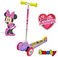 Самокат трехколесный Minnie Mouse Smoby 450186