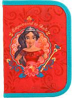 Пенал для девочки Kite Elena of Avalor EL18-622, без наполнения, красный