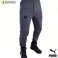 Мужские Спортивные Штаны Puma Ferrari. Мужская одежда. Реплика, фото 1