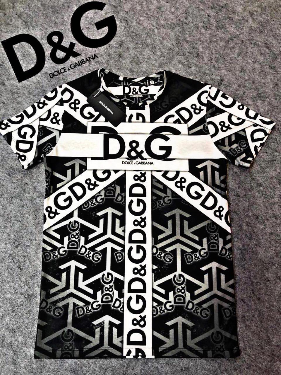 Мужская футболка. Реплика Dolce & Gabbana Мужская одежда S