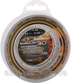 Шоклидер Prologic Bulldozer Mimicry Water Ghost XP 100m 44lbs 21.3kg 0.60mm