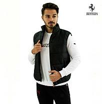 Жилетка PUMA FERRARI BLACK. Мужская одежда XL