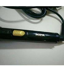 Конусная стайлер плойка | Накрутка и выпрямление | 3 температурных режима Rozia HR-713 CG24 PR3, фото 3