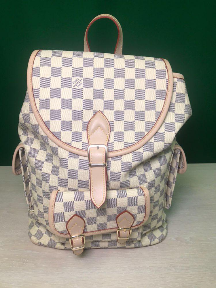 Жіночий рюкзак. Репліка LOUIS VUITTON. Брендова сумка