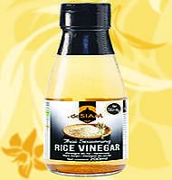 Білий рисовий оцет, deSiam, 200мл, Фо
