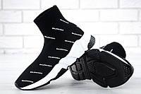 Женские кроссовки Balenciaga Speed Sock black-white