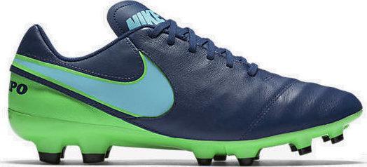 Бутсы Nike Tiempo Genio II FG (819213-443) Оригинал