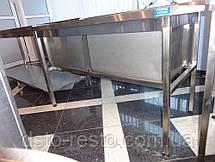 Ванна моечная глубокая 40 см 1300/600/850 мм, фото 3