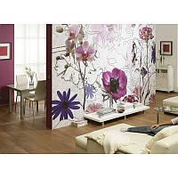 Фотообои Komar Фиолетовые цветы 8-887