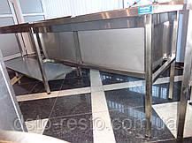 Ванна моечная глубокая 40 см 1300/600/850 мм, фото 2