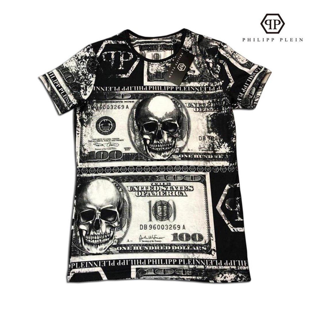 Мужская футболка. Реплика PHILIPP PLEIN Мужская одежда S
