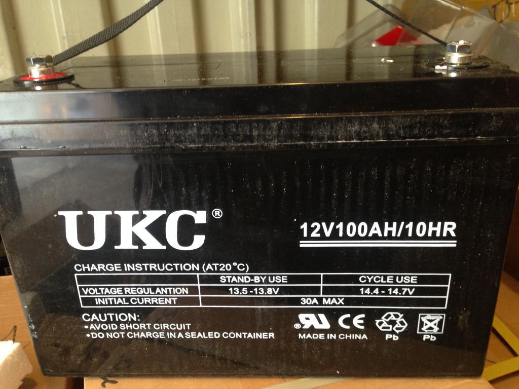Аккумулятор гелевый UKC 12в 12v 65А 12V65AH/10HR