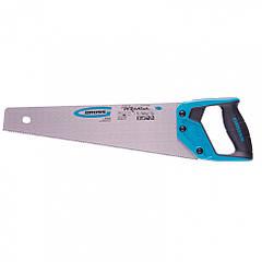"Ножовка по дереву ""Piranha"", 400 мм, 11-12 TPI, зуб-3D, Gross"