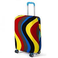 Чехол для чемодана Bonro средний L разноцветный