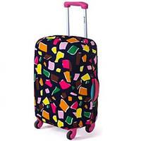 Чехол для чемодана Bonro средний L кубики