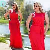 Платье длинное , р747/1 ДГ батал