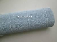 Креп бумага нежно-голубая №559